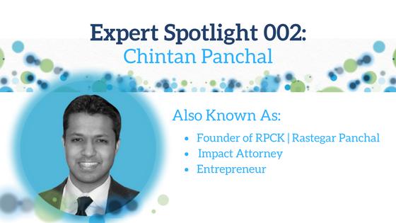 Expert Spotlight 002: Chintan Panchal
