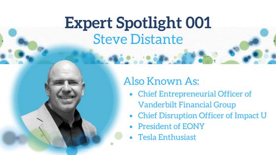 Expert Spotlight 001: Steve Distante
